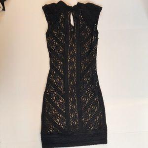 BEBE Black Mini Dress
